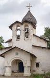 Iglesia de la ascensión, Pskov Fotografía de archivo