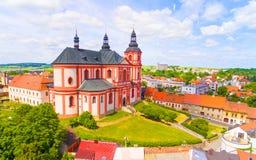 Iglesia de la asunción Foto de archivo libre de regalías