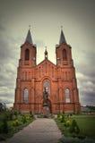 Iglesia de la asunción de Miory Fotos de archivo