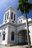 Iglesia de la asunción, Georgetown imágenes de archivo libres de regalías