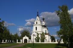 Iglesia de la asunción Rusia, Boldino Foto de archivo