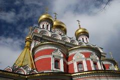 Iglesia de la bóveda de oro Foto de archivo libre de regalías