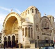 Iglesia de la basílica en Heliópolis foto de archivo
