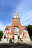 Iglesia de la calle del parque, Boston, los E.E.U.U. Foto de archivo