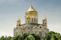 Iglesia de la catedral de Cristo el salvador Imagen de archivo libre de regalías