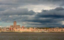 Iglesia de la catedral de Cristo en Liverpool Fotografía de archivo libre de regalías