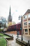 Iglesia de la catedral de San Miguel en Coventry, Inglaterra fotos de archivo