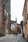 Iglesia de la catedral de San Miguel en Coventry, Inglaterra imágenes de archivo libres de regalías