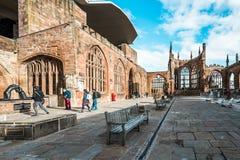 Iglesia de la catedral de San Miguel en Coventry, Inglaterra fotos de archivo libres de regalías