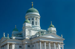 Iglesia de la catedral en Helsinki imagen de archivo libre de regalías