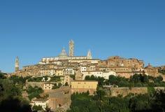 Iglesia de la catedral en Siena Foto de archivo