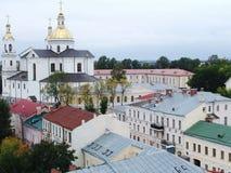 Iglesia de la ciudad Fotos de archivo