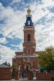Iglesia de la ciudad del ladrillo Foto de archivo
