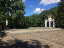 Iglesia de la ciudad de Kharkov pequeña fotografía de archivo