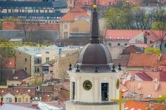 Iglesia de la ciudad de Vilna fotografía de archivo libre de regalías