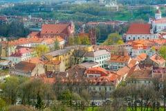 Iglesia de la ciudad de Vilna imagenes de archivo
