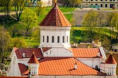 Iglesia de la ciudad de Vilna foto de archivo
