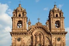 Iglesia de la Compania in Cusco Stockfoto