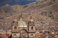 Iglesia de la Compania in Cusco Royalty Free Stock Photos