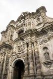Iglesia de la Compania de Jesus em Quito, Equador Imagens de Stock