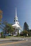 Iglesia de la comunidad de Stowe Fotografía de archivo libre de regalías