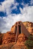 Iglesia de la cruz santa Fotografía de archivo libre de regalías