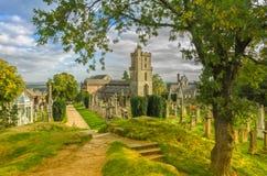 Iglesia de la cruz santa Stirling Foto de archivo