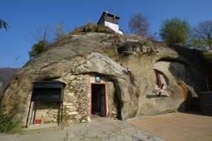 Iglesia de la cueva Imagen de archivo
