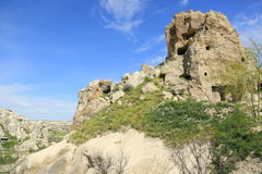 Iglesia de la cueva en Cappadocia Imagen de archivo libre de regalías