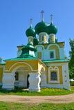 Iglesia de la decapitación de St John el Bautista en el convento de Alekseevsky Uglich, región de Yaroslavl foto de archivo libre de regalías
