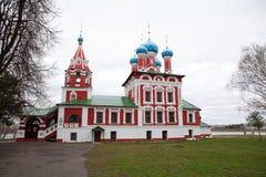 Iglesia de la Dimitry-en-sangre del príncipe Imagenes de archivo