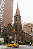 Iglesia de la encarnación en Manhattan imagenes de archivo