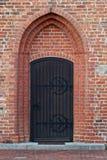Iglesia de la entrada Foto de archivo libre de regalías
