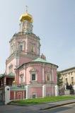 Iglesia de la epifanía, Moscú, Rusia Foto de archivo libre de regalías