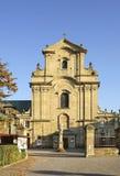 Iglesia de la exaltación de la cruz santa en Krosno polonia Imagenes de archivo