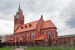 Iglesia de la familia santa Fotografía de archivo