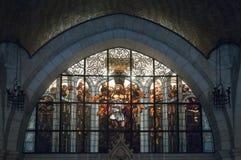 Iglesia de la flagelación - Jerusalén foto de archivo