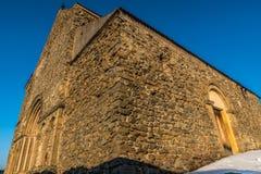 Iglesia de la fortaleza Foto de archivo