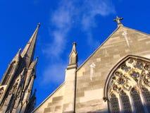 Iglesia de la historia Imagen de archivo libre de regalías