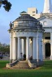 Iglesia de la historia de San Jorge en Malasia Imagen de archivo libre de regalías