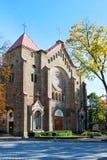Iglesia de la Inmaculada Concepción de la Virgen María bendecida Fotos de archivo libres de regalías