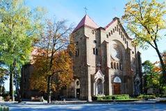 Iglesia de la Inmaculada Concepción de la Virgen María bendecida Imágenes de archivo libres de regalías