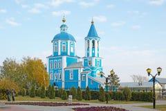 Iglesia de la intercesión de la madre de dios Imagen de archivo