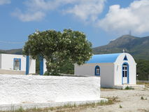 Iglesia de la isla de Kos Foto de archivo libre de regalías
