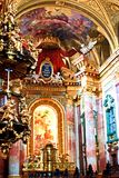 Iglesia de la jesuita, Katholische Jesuitenkirche, Viena, Austria Fotos de archivo libres de regalías