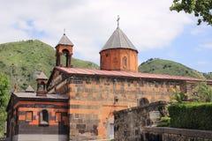 Iglesia de la madre santa de dios en la ciudad de Vanadzor Foto de archivo libre de regalías