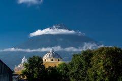 Iglesia de la Merced. Antigua Guatemala Royalty Free Stock Photo