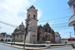 Iglesia de la Merced church, in Granada, Nicaragua Stock Images