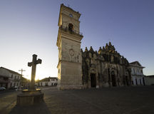 Iglesia de la Merced, Granada, Nicaragua. Merced Church in Granada, Nicaragua royalty free stock photos