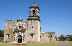 Iglesia de la misión de San Jose, San Antonio, Tejas, los E.E.U.U. Foto de archivo
